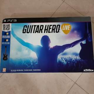 Brand new - Guitar heros for PS3