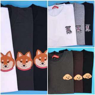 狗狗衫tee 泰國 設計 寵物 男裝 女裝 情侶 品牌