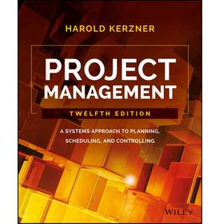 Wiley Project Management 12th Edition
