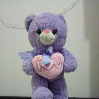 Boneka Beruang (I Love u)