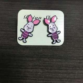 Cute cartoon earrings / ear studs