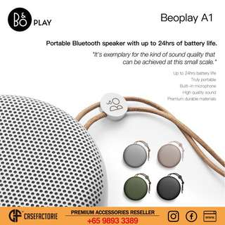 B&O Play Beoplay A1 Portable Wireless Bluetooth Speaker
