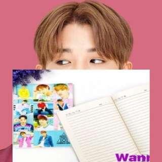 Wanna One Notebooks
