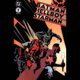BATMAN/ HELLBOY/ STARMAN #1 (1999) Mike Mignola
