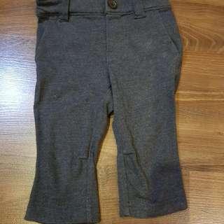 Baby Gap Gray Cotton Pants (6-12m)