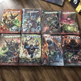 Dc new 52 Justice League Complete 1-8