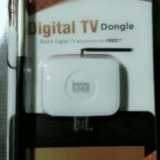 My phone digital tv android dongle receiver
