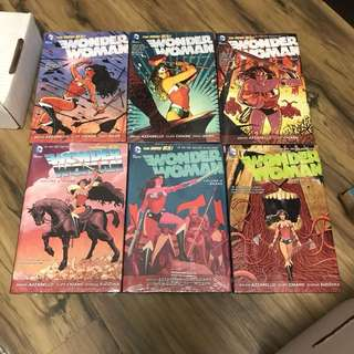 Dc new 52 Wonder Woman 1-6 hc