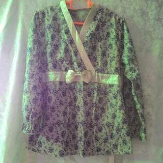 Kimono Blouse Bunga
