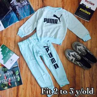 Printed Longsleeve with Jogger for Kids