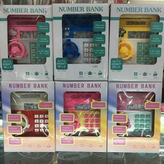 EC- Coin/Cash Bank for Kids/Adults