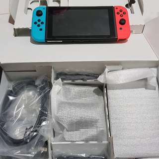 MINT Nintendo Switch