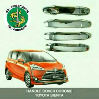 Cover handle sienta