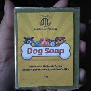 Dog soap organic