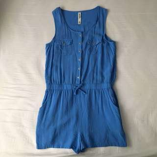 Just Jeans Blue Girl's Playsuit