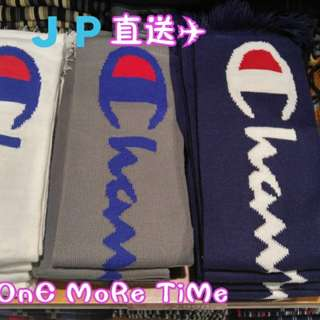 日版 Champion 頸巾