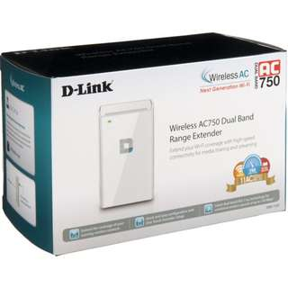 D-LINK AC750 RANGE EXTENDER (DAP-1520)