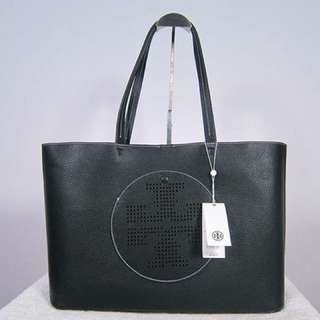 TB Perforated Logo Tote