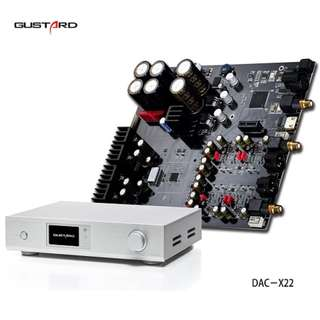 (Promo $1300) GUSTARD DAC-X22 ES9038PRO (Latest Flagship model)