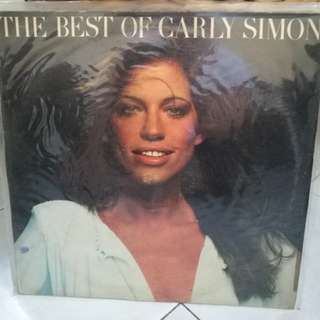 THE BEST OF CARLY SIMON VG