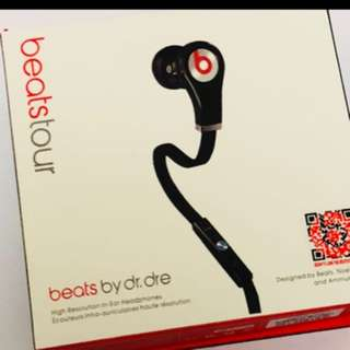 Beats tour 1 white/black