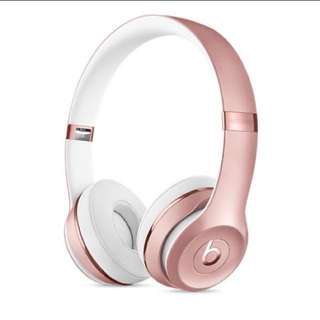 Beat solo3 wireless headphone