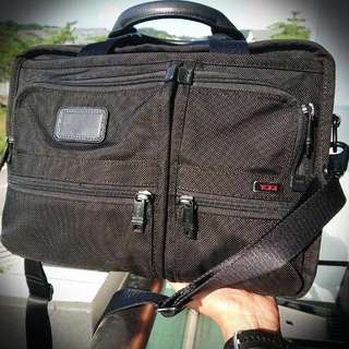 RESERVED: Authentic Tumi Alpha Bravo Men's Briefcase