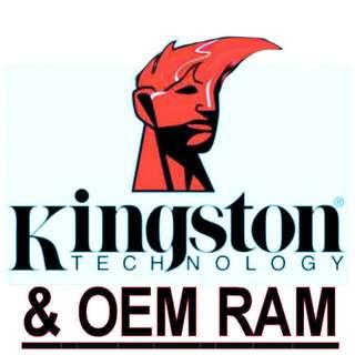 Desktop/Laptop DDR2 Ram 512/1GB/2GB