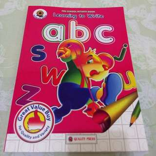 Learning to write abc *