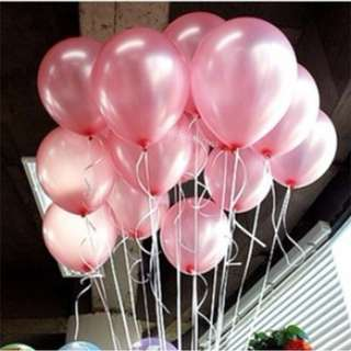 PEARL LATEX HELIUM BALLOON (LIGHT PINK)