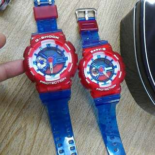 G-SHOCK & BABY-G JELLY COUPLE EDITION