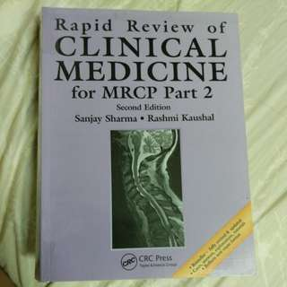 Rapid review of clinical medicine for part 2 mrcp
