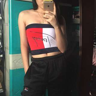 Tommy Hilfiger - Tube Top + Pants