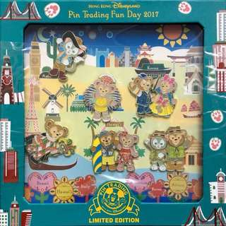 Disney pin Duffy Shelliemay Gelatoni 香港迪士尼徽章