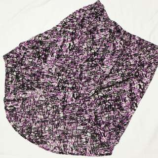 Bayo Printed High Low Skirt