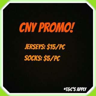 [CNY Promo] Football Jerseys (Chelsea/Dortmund/Real Madrid/Atl Madrid/Man City)