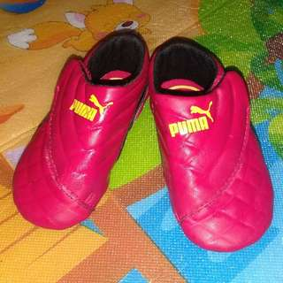 Puma Ferrari Crib Red Shoes