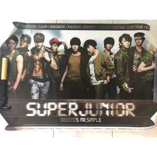 Super Junior poster (任3張$20)