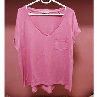 Pink M&S top