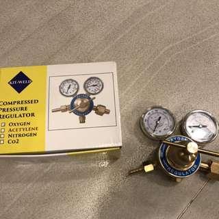 Oxygen regulator Kitweld