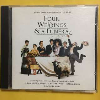 Four Weddings & a Funeral Cd