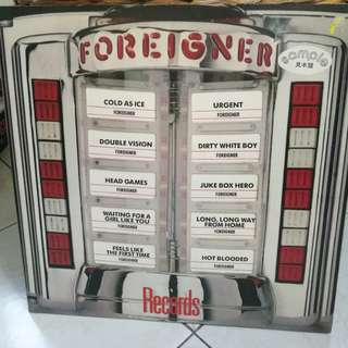 FOREIGNER RECORDS VG