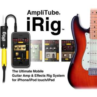 Brand New Amplitube - iRig