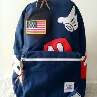 Herschel mickey limited edition 100%