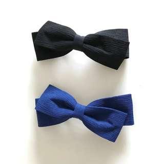 BN Korean Barrette Bow Clips Bow Hairclips Ribbon Hair Clips