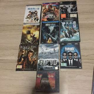 English DVD Movies ($20 in bundle)