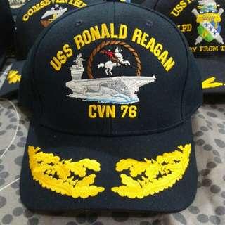 美航母列根號記念帽及火機