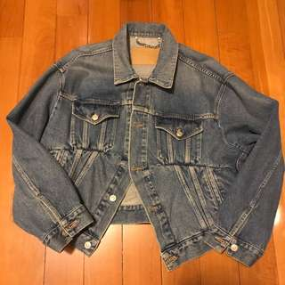 Balenciaga swing denim jacket