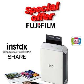 Fujifilm SP-2 Portable Instax Printer