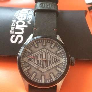 Superdry watches leather strap